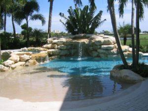Beach Entry Pool Design