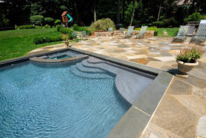 sun shelf pool design