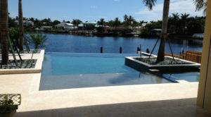 vanishing edge pool design